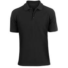 Black uniform tshirt image