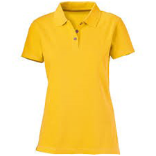 Yellow uniform tshirt image